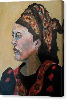 Deborah The Warrior Canvas Print