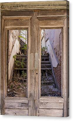 Decaying History Canvas Print