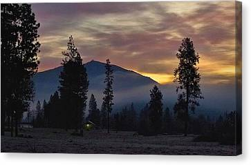 Canvas Print featuring the photograph December Dawn by Julia Hassett