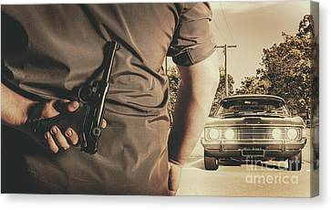 Survive Canvas Print - Deception In The Bay Parking by Jorgo Photography - Wall Art Gallery