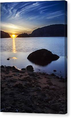 Deception Pass 3 Canvas Print by Sonya Lang
