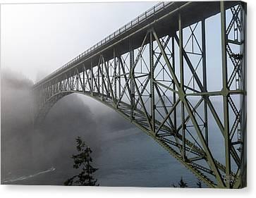 Deception Pass Bridge Canvas Print