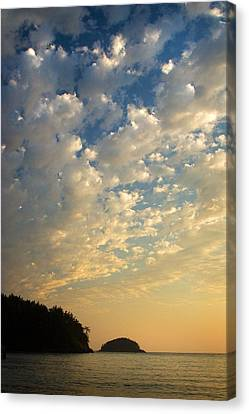 Canvas Print featuring the photograph Deception Pass by Sonya Lang