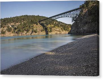 Deception Pass State Park Canvas Print by Calazone's Flics