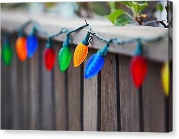 Deck The Fence Canvas Print