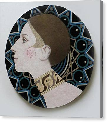 Deco Barbra Canvas Print