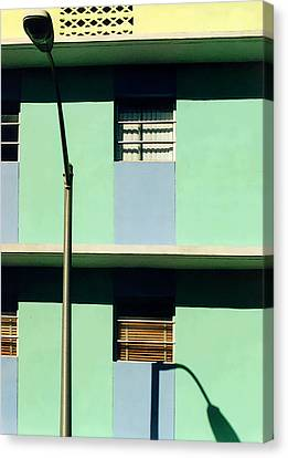 Deco Lines Canvas Print