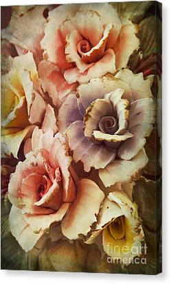 Decoration Flower Canvas Print by Mohamed Elkhamisy