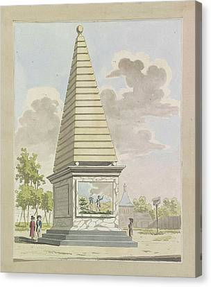 Plantation Canvas Print - Decoration In Plantation, 1795 by A. Verkerk And Johannes Roelof Poster
