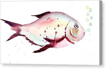 Decorative Fish Canvas Print