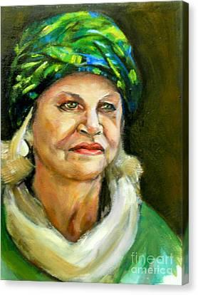 Decorative Hat Canvas Print by Renuka Pillai