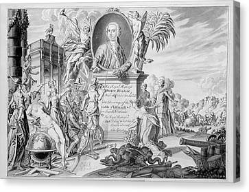 Dedication Page Canvas Print by British Library