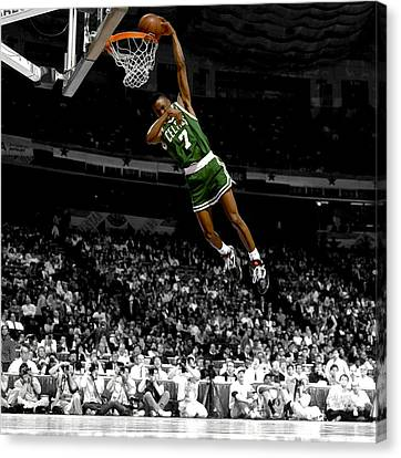 Dee Brown Canvas Print by Brian Reaves