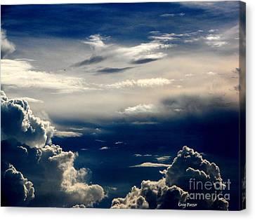 Deep Blue Canvas Print by Greg Patzer