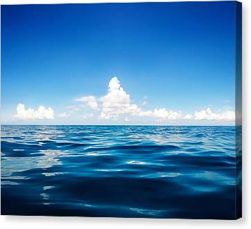 Deep Blue Canvas Print by Nicklas Gustafsson