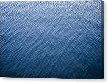 Deep Blue Water Canvas Print