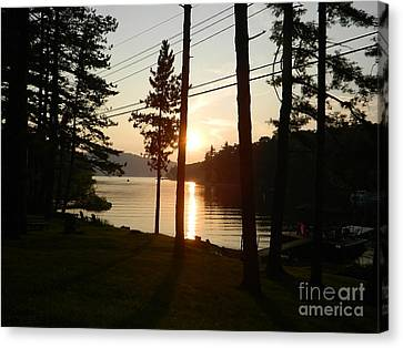Canvas Print featuring the photograph Deep Creek Lake Park Md by Emmy Marie Vickers