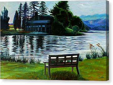 Deep Creek Canvas Print