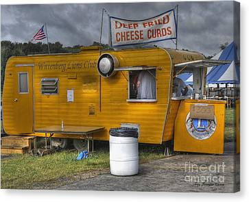 Deep Fried Cheese Curds Canvas Print