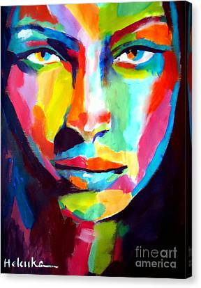 Deep Gaze Canvas Print