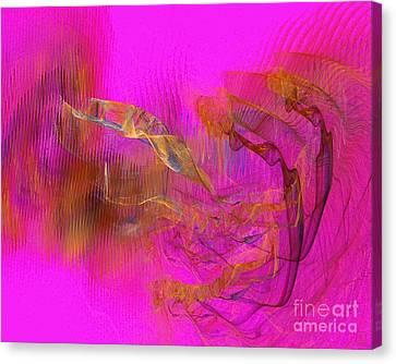 Deep Life 2 Canvas Print by Jeanne Liander