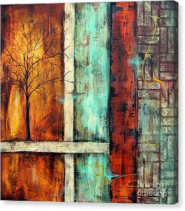 Deep Roots-a Canvas Print by Jean Plout