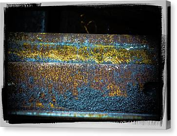 Canvas Print featuring the photograph Deep Rust by Craig Perry-Ollila