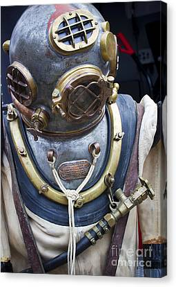 Deep Sea Diving Gear Canvas Print
