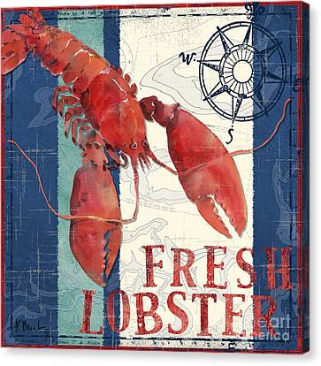 Deep Sea Lobster Canvas Print by Paul Brent