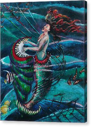 Deep Sea Melody Canvas Print