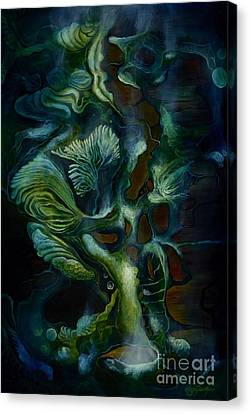 Deep Sea Within Canvas Print