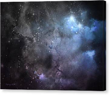 Deep Space Canvas Print by Cynthia Lassiter