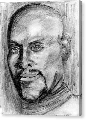 Deep Space Sisko Canvas Print