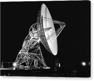 Deep Space Tracking Station Canvas Print by Underwood Archives