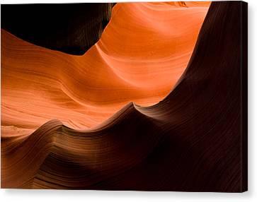 Deep Waves Canvas Print