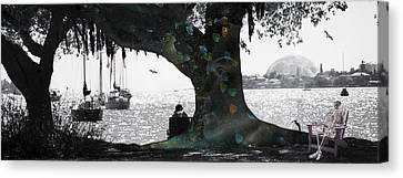 Deeply Rooted Canvas Print by Betsy Knapp