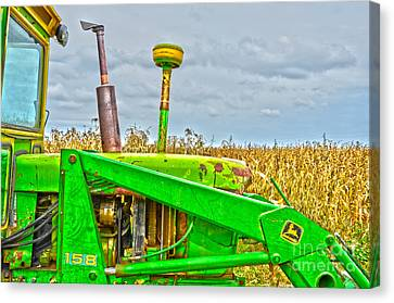 Deere 158 Canvas Print by Baywest Imaging