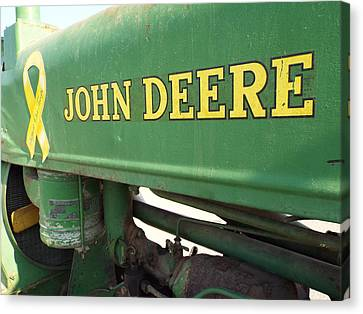 Deere Support Canvas Print