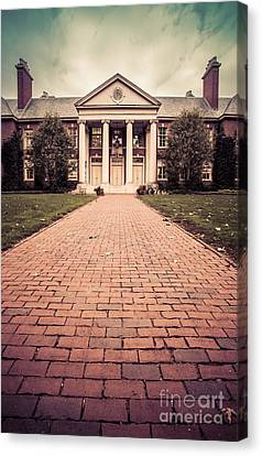 Deerfield Academy Canvas Print by Edward Fielding