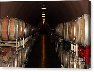 Deerfield Ranch Winery 5d22218 Canvas Print by Wingsdomain Art and Photography