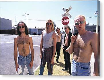 Def Leppard - Slang Tour 1996 - Jackson Street Canvas Print by Epic Rights