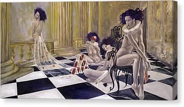 Defenceless Canvas Print by Dorina  Costras