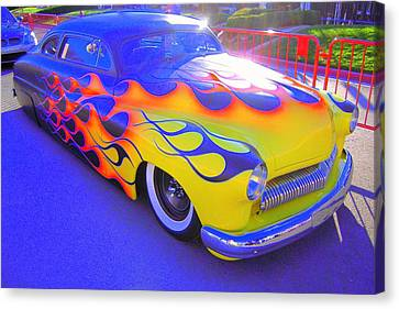 Canvas Print featuring the photograph Definitely A Hot Rod by Don Struke