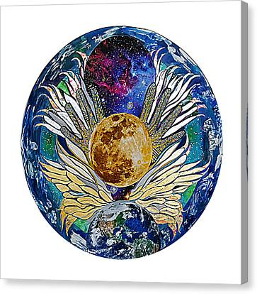 Defying Gravity Canvas Print by Jacqueline Sacs