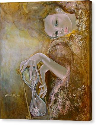 Love Laces Canvas Print - Deja Vu by Dorina  Costras