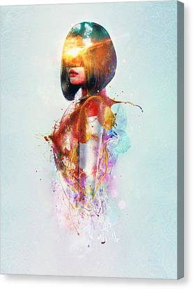 Explosion Canvas Print - Deja Vu by Mario Sanchez Nevado