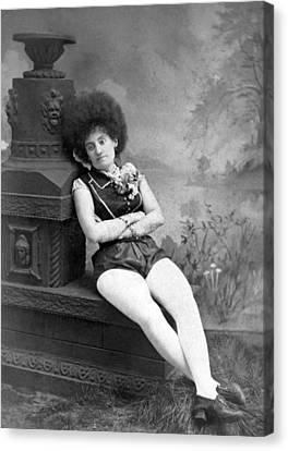 Dejected Vaudeville Performer Canvas Print