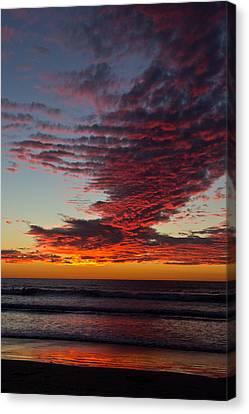 Del Mar Sunset 16 Canvas Print