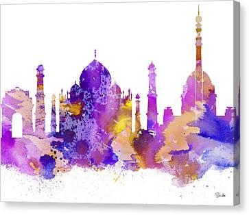 Delhi Canvas Print by Luke and Slavi