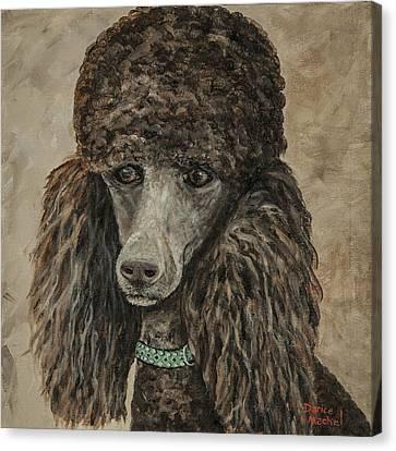 Delia Canvas Print by Darice Machel McGuire
